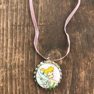 HP 🎉 Tinkerbell Bottle Cap Necklace